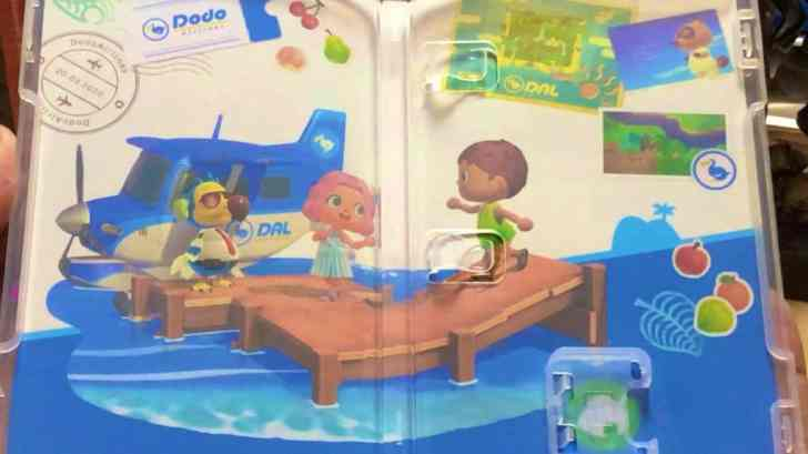 Animal Crossing: New Horizons Street Date Broken, First Look At Inner Cover And Game Card 1