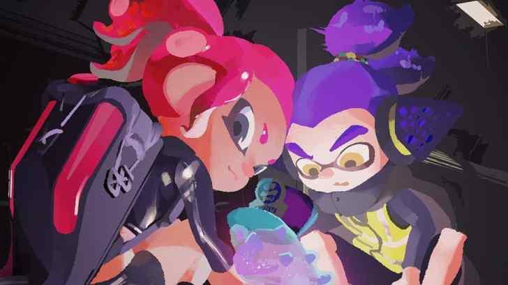 Nintendo Shares New Splatoon Artwork For White Day 2020 1