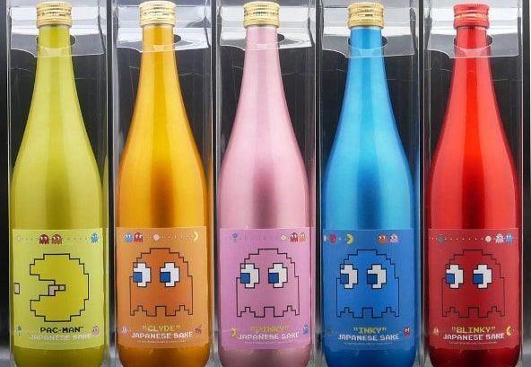 Official Pac-Man Sake Announced In Japan 1