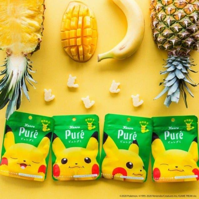 Pikachu Teams Up With Kanro For Tropical Flavor Pure Gumi In Japan 2