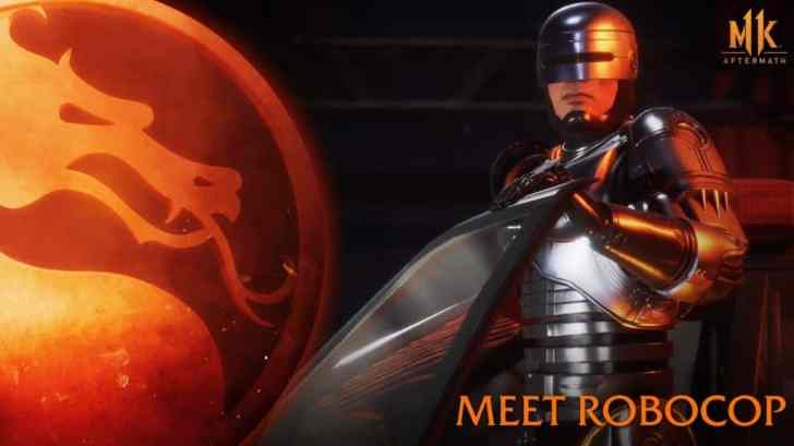 "Mortal Kombat 11: Aftermath Receives ""Meet RoboCop"" Trailer 8"