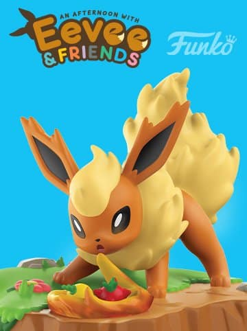 FIRST LOOK AT FUNKO'S AN AFTERNOON WITH EEVEE AND FRIENDS FLAREON FIGURE 2