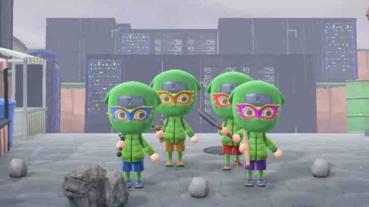 The Teenage Mutant Ninja Turtles Intro Gets Recreated In Animal Crossing: New Horizons 17