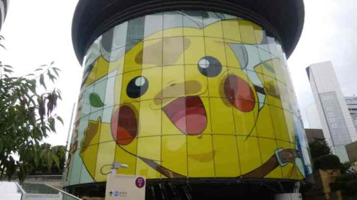 Roppongi Hills Metro Hat Receives A Pokemon Coco Makeover 1