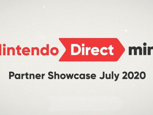 nintendo direct mini 20/7/2020