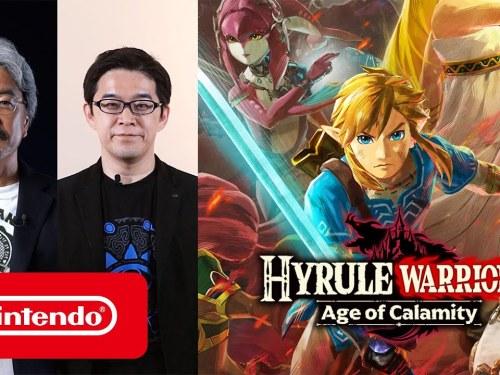 Hayashi X Aonuma Hyrule Warriors