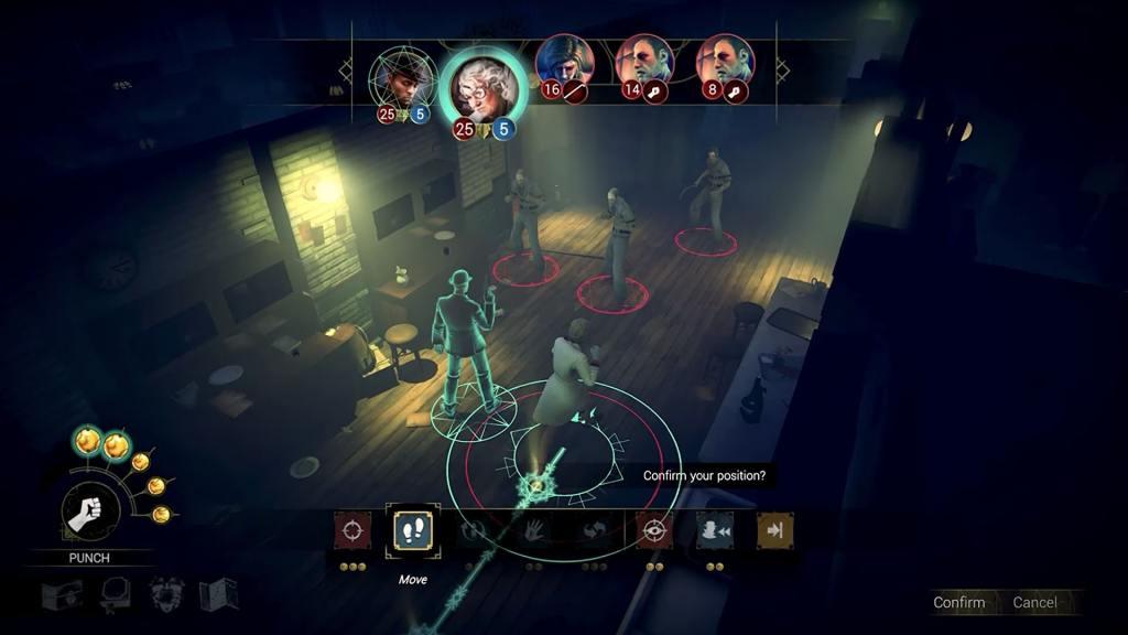 Arkham Horror: Mother's Embrace gameplay