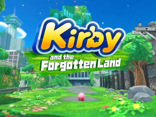 Kirby and the Forgotten Land banner