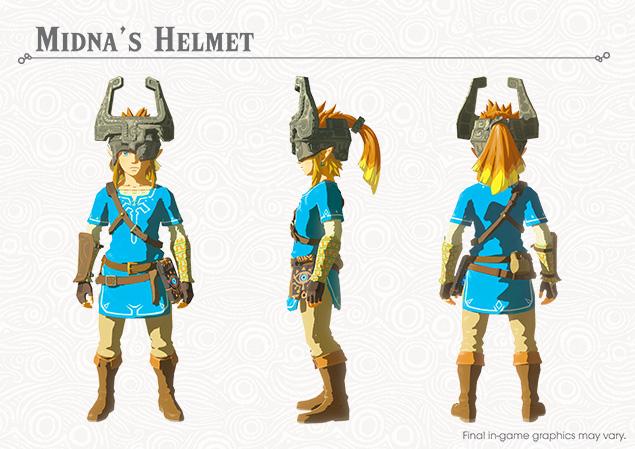 Stencil Midona Zelda