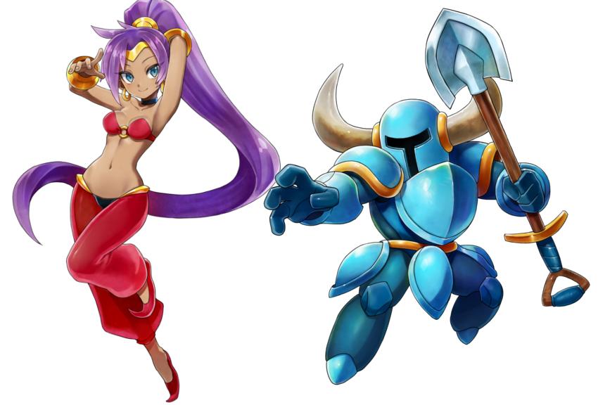 Shantae And Shovel Knight Are Joining Blaster Master Zero