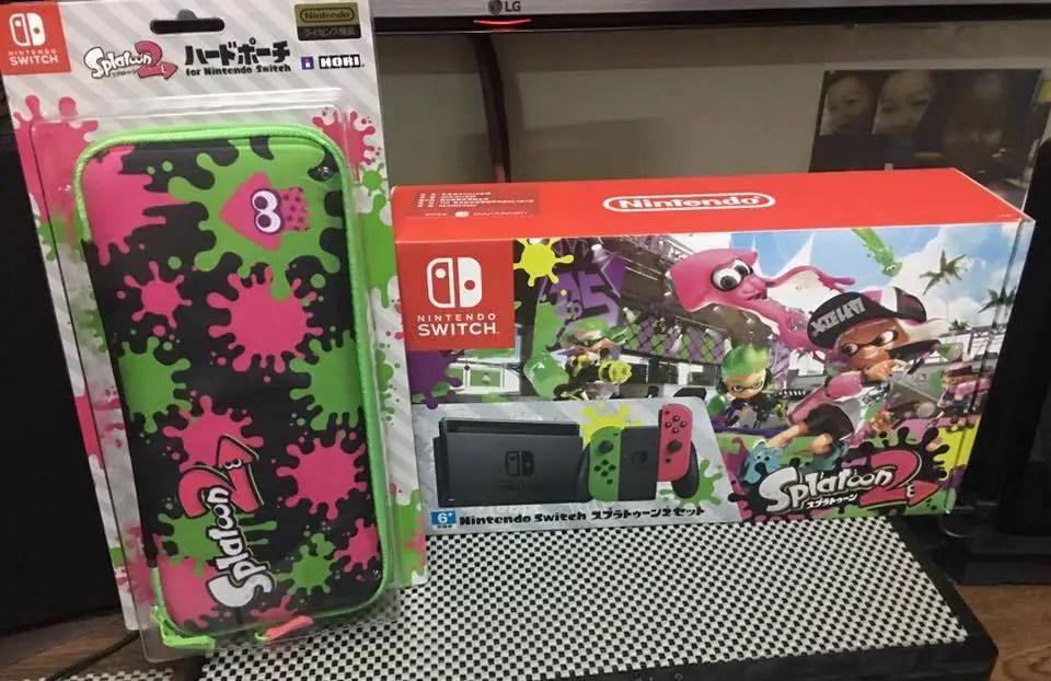 First Look at Hong Kong's Nintendo Switch Splatoon 2 Bundle