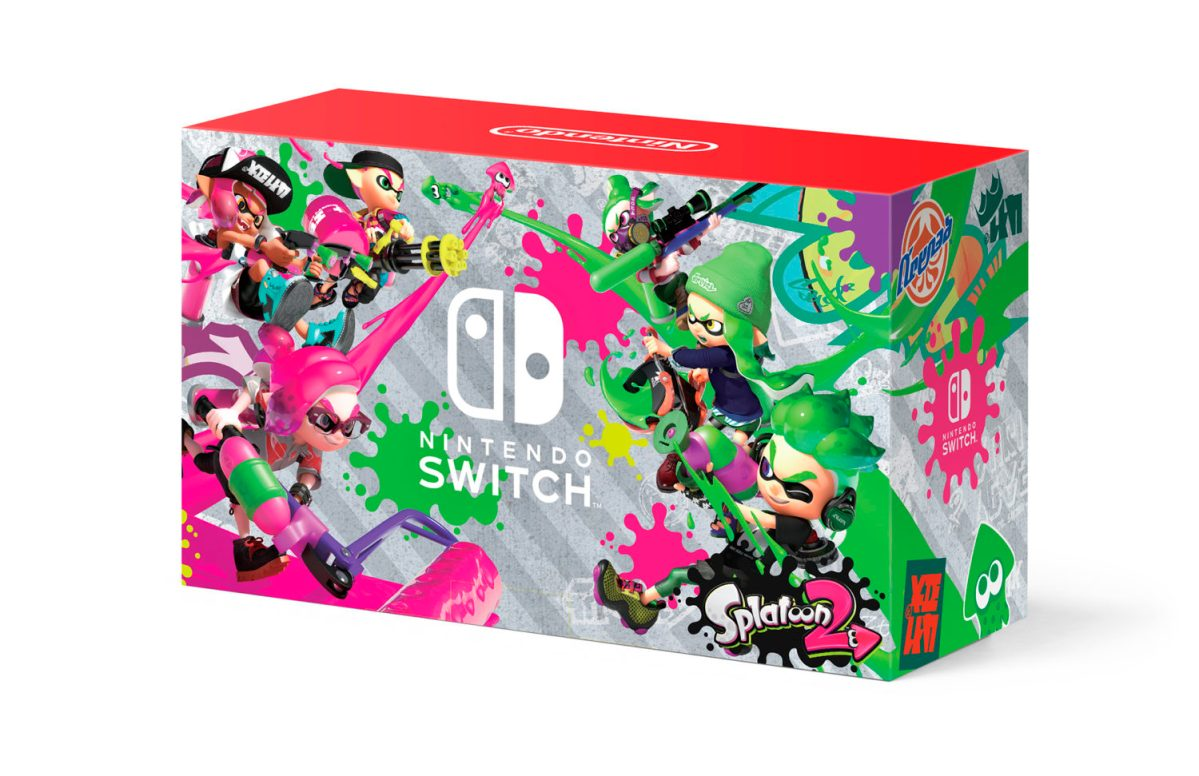 North America: Nintendo Switch Splatoon 2 Edition Bundle Launches On September 8