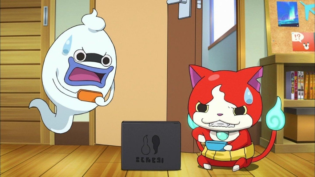 Nintendo switch makes a cameo in yo kai watch anime nintendosoup sciox Images