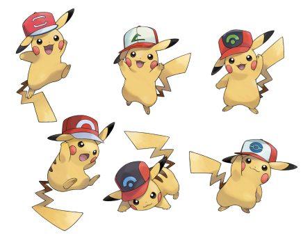 Ashs Pikachu All