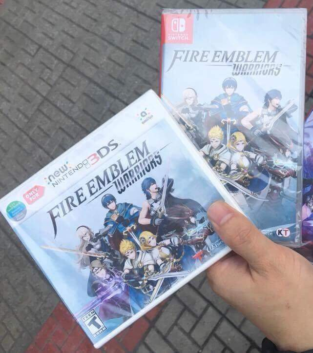 Street Date for Fire Emblem Warriors Broken in South East Asia