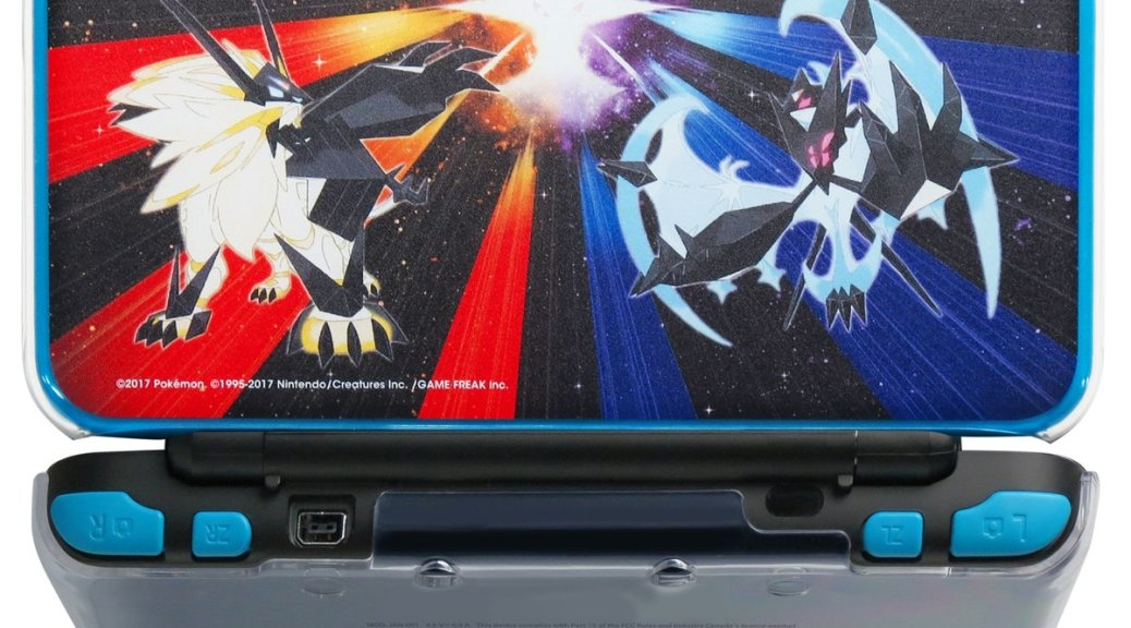 Hori announces pokemon ultra sun and ultra moon for Housse 2ds xl pokemon