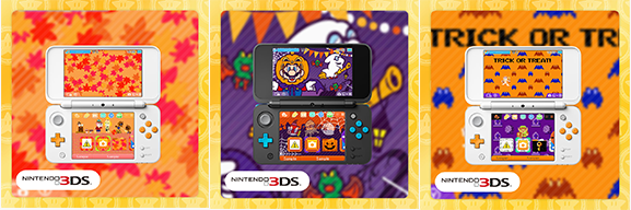 North America: Halloween Themes For Nintendo 3DS Up On My Nintendo ...
