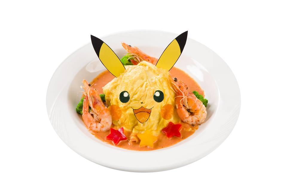 Pokemon Cafe Taiwan Opens November 16, More Food Photos