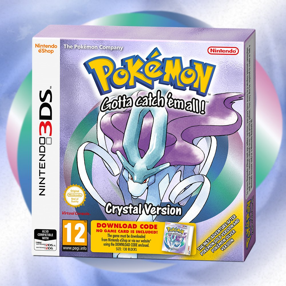 Pokemon Crystal Arrives On Nintendo 3DS In 2018