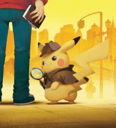 Detective Pikachu Artwork 1000px