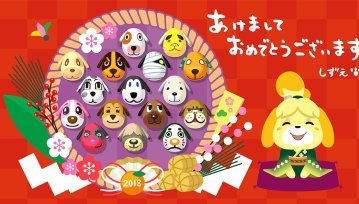 Catch adorable eevee items in animal crossing pocket camp tomorrow official nintendo and pokemon twitter accounts share their new year greetings m4hsunfo