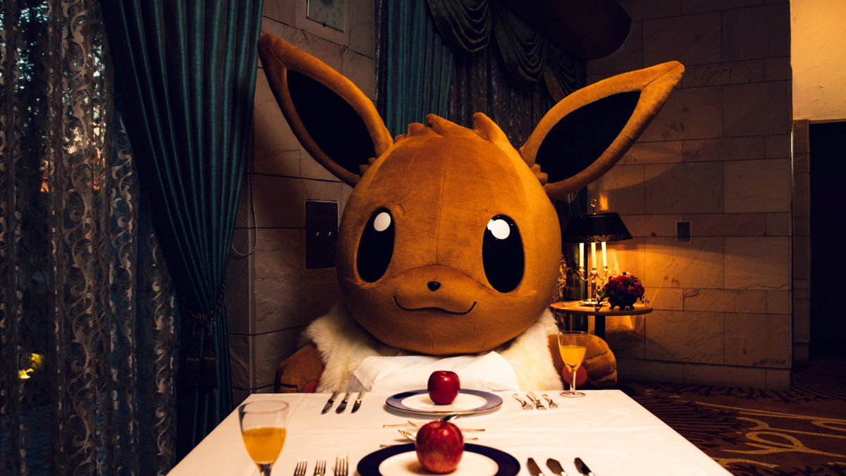 Win An Opportunity To Go On A Date With Eevee In Japan