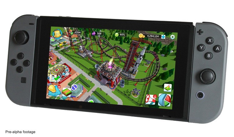 Atari Starts Funding Campaign For RollerCoaster Tycoon Switch