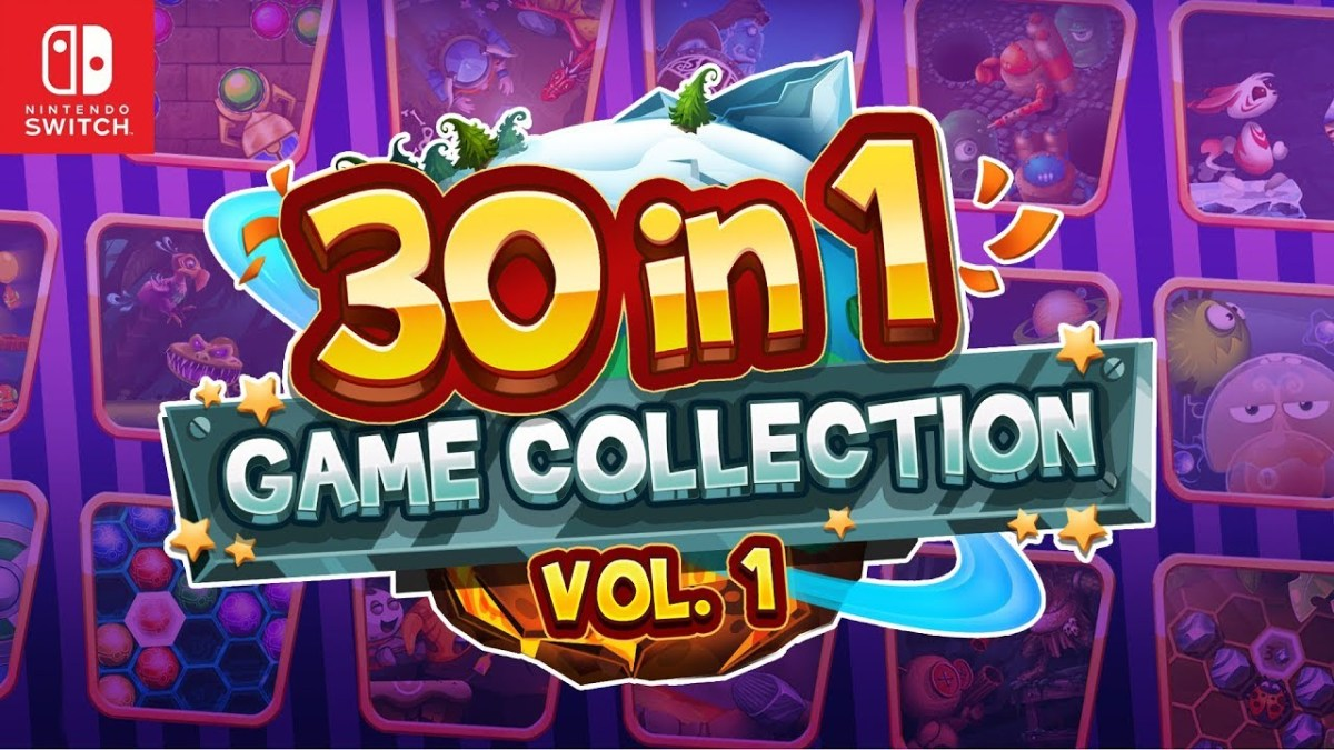 30-in-1 Game Collection: Volume 1 Announced For Switch