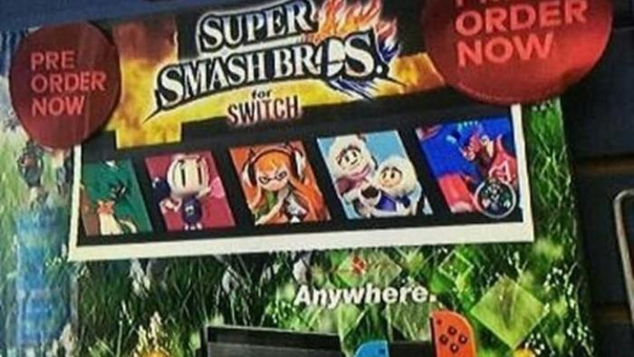 Gamestop Steals Fan Art Uses It To Promote Super Smash Bros Switch Pre Orders Nintendosoup