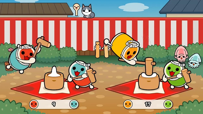 Taiko No Tatsujin Nintendo Switch Version Will Feature DLC
