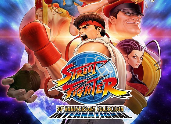 Japan Street Fighter 30th Anniversary Collection International
