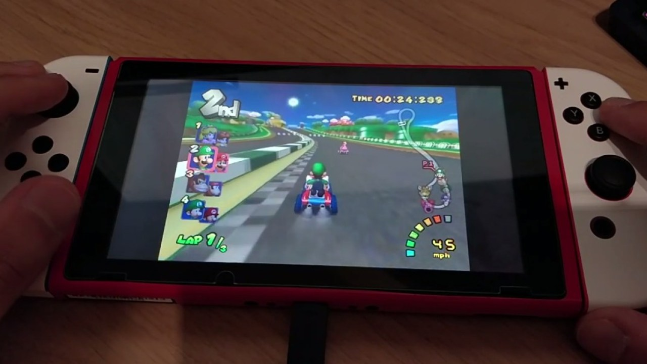 Here S A Look At Mario Kart Double Dash Running On Nintendo Switch Nintendosoup