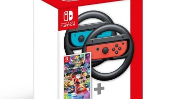 First Images Of The Joy-Con Wheel White Pair | NintendoSoup
