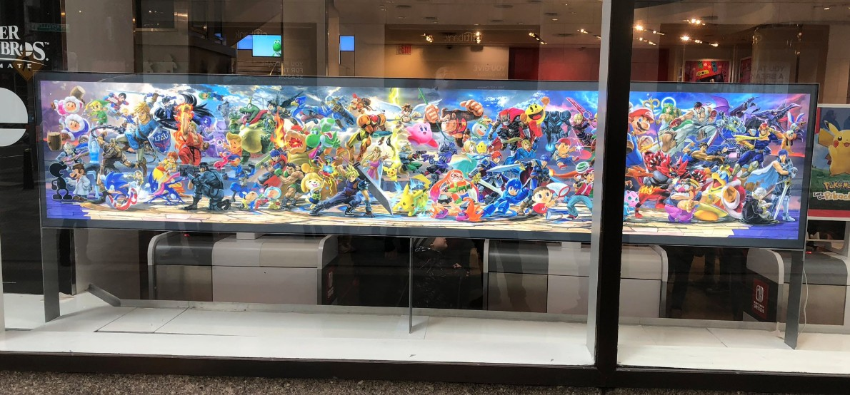 Nintendo NY Gears Up For Super Smash Bros Ultimate Launch