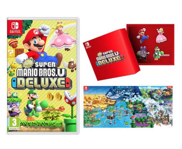 Here Are The Pre Order Bonuses For New Super Mario Bros U Deluxe