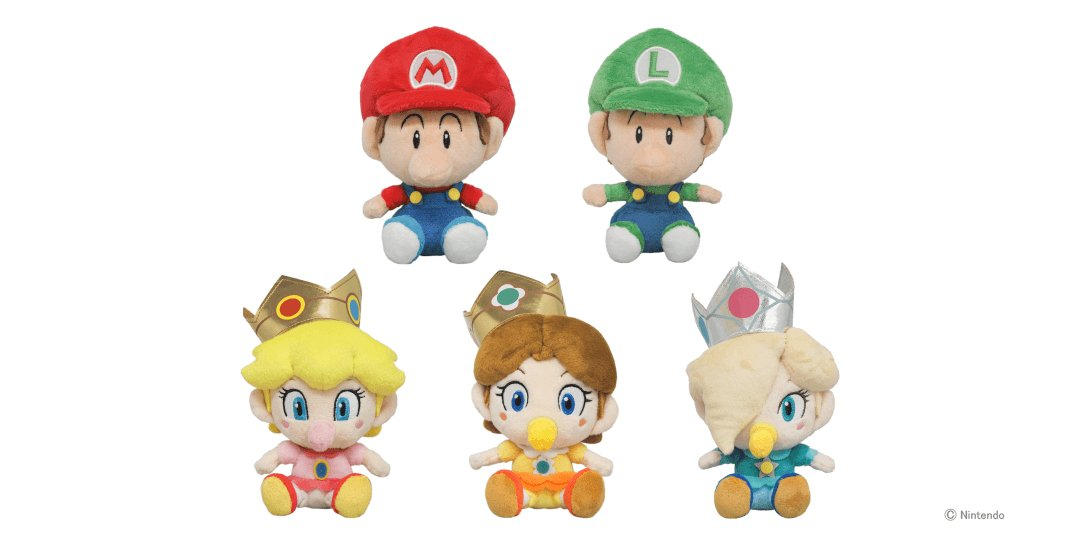 Super Mario ALL STAR COLLECTION Baby daisy S Plush Doll Stuffed toy from JAPAN