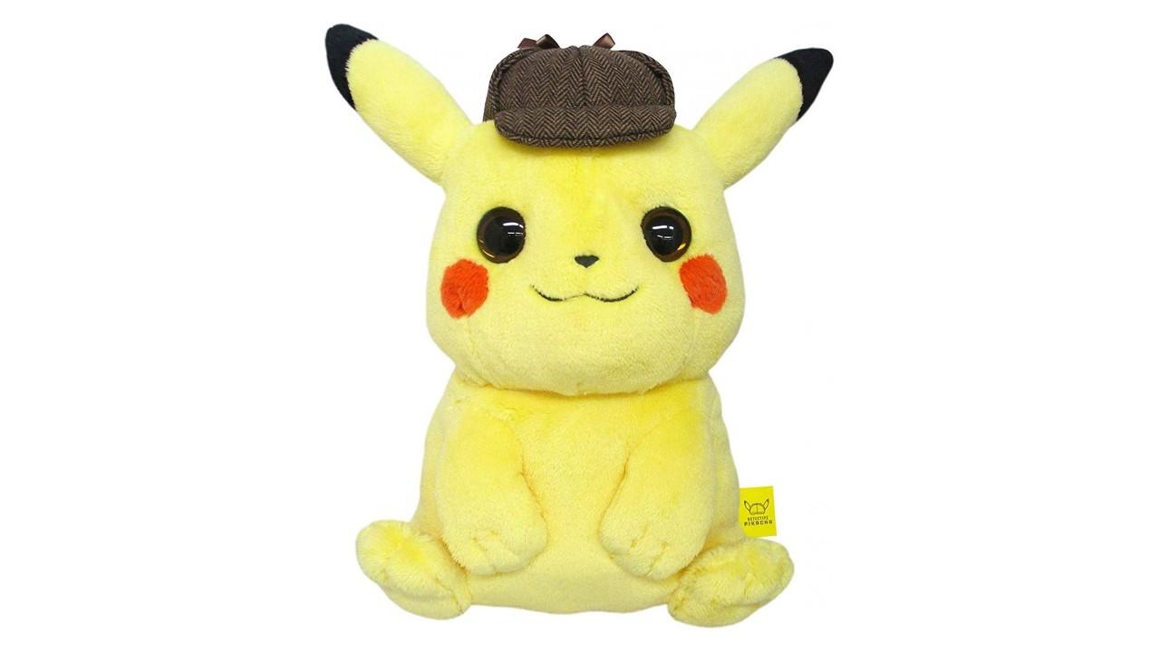Sanei Boeki Announces Detective Pikachu Mochifuwa Cushion For Japan Nintendosoup