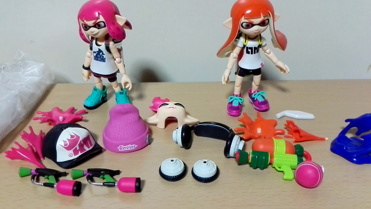 figma Splatoon Girl DX Edition Good Smile Company Japan NEW
