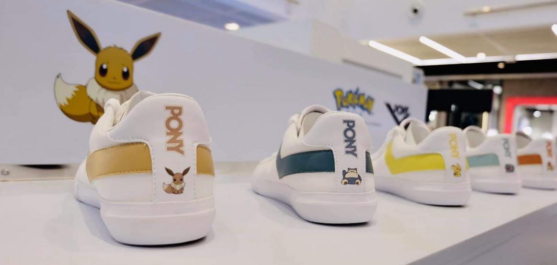 Pikachu And Eevee adidas neo Sneakers