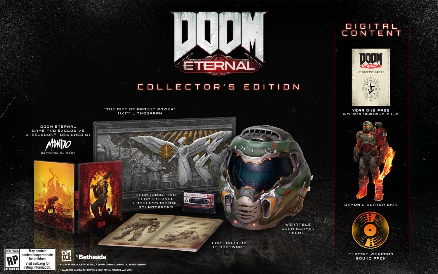 Doom Eternal Deluxe And Collector S Editions Announced Switch Box