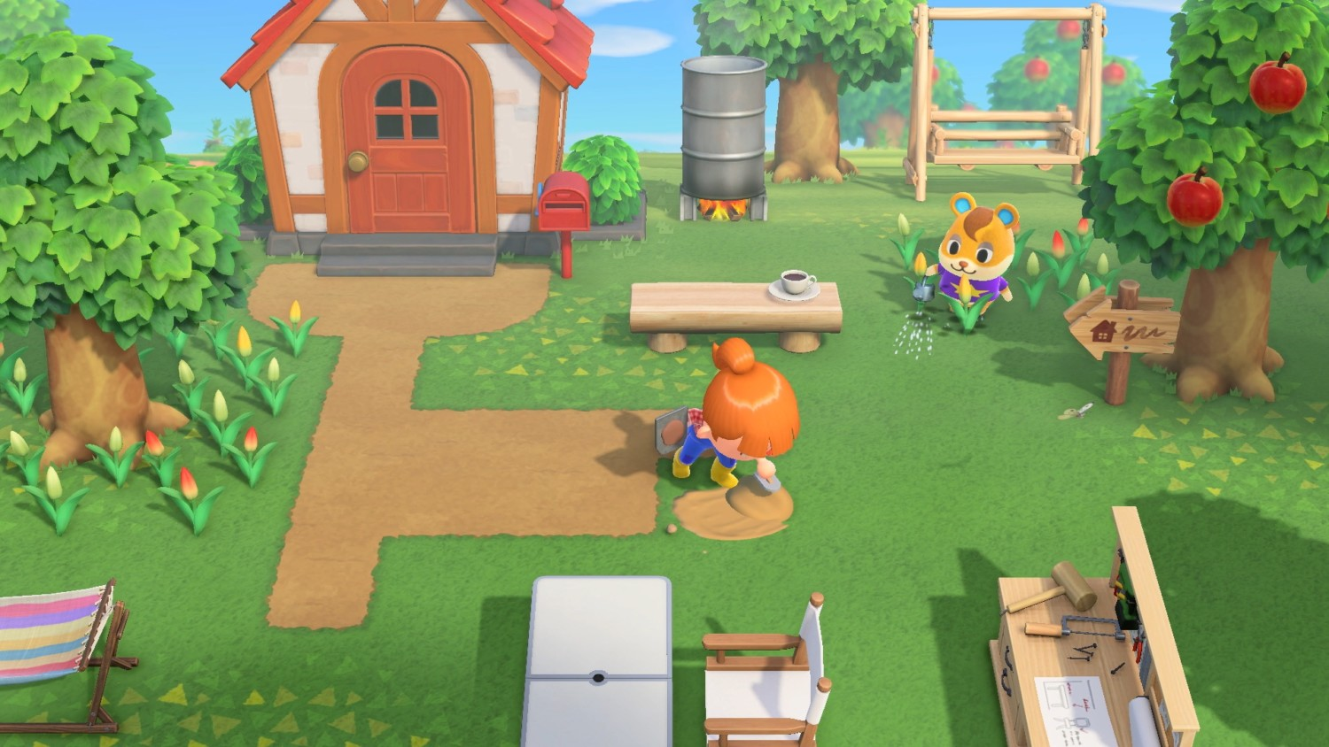 How To Build Paths And Terraform In Animal Crossing: New ...