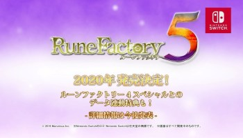 Marvelous Taking Their Time With Rune Factory 5, Aiming For 2020