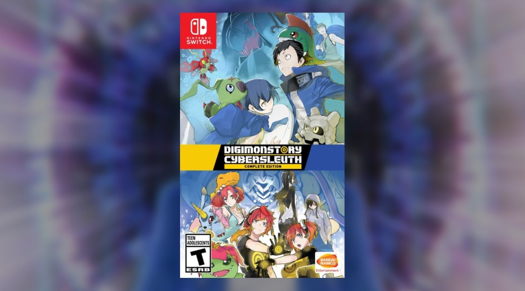 Digimon Story Cyber Sleuth Complete Edition Up For Pre Order On