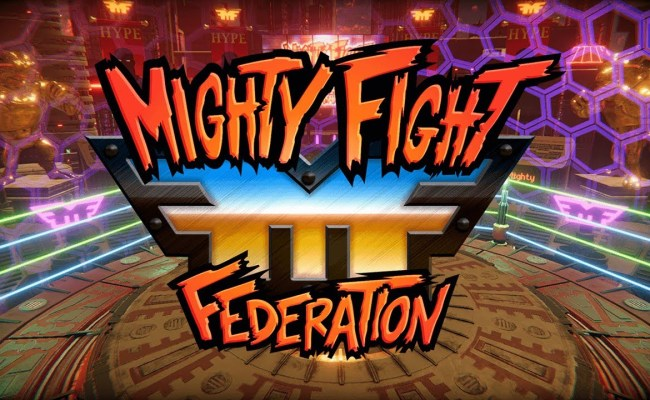 Mighty Fight Federation Coming To Switch In 2020 Features