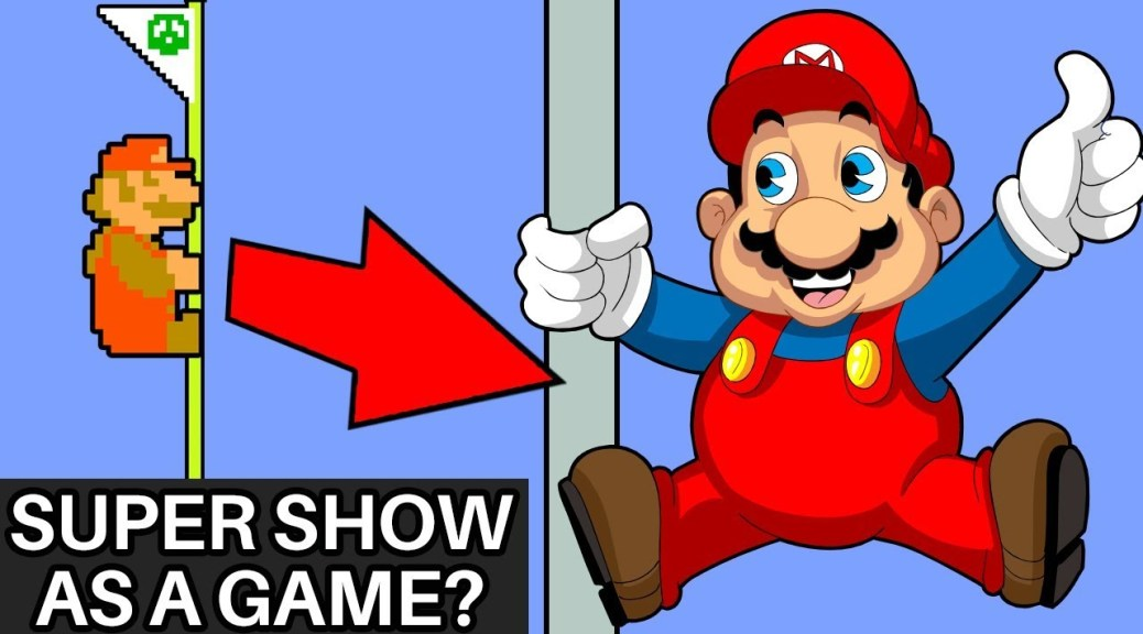 A Fan Game Based On The Super Mario Bros Super Show Is In The