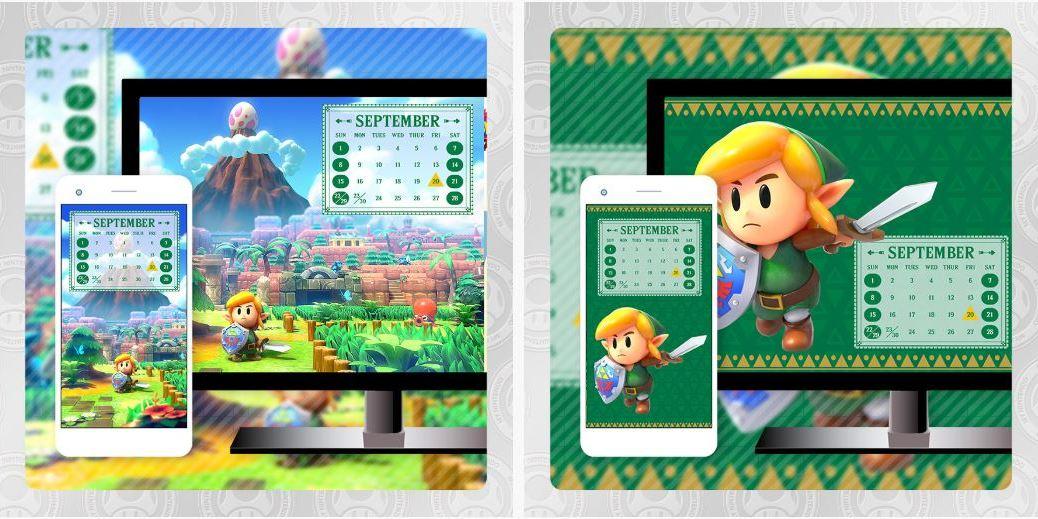 Latest September My Nintendo Rewards Include Zelda Link S Awakening Remake Wallpaper Set Nintendosoup