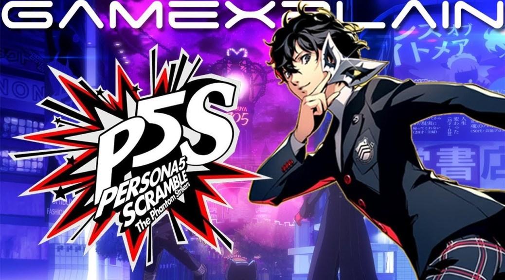 Atlus Stream Provides Updates On Persona 5 Scramble The Phantom Strikers Nintendosoup