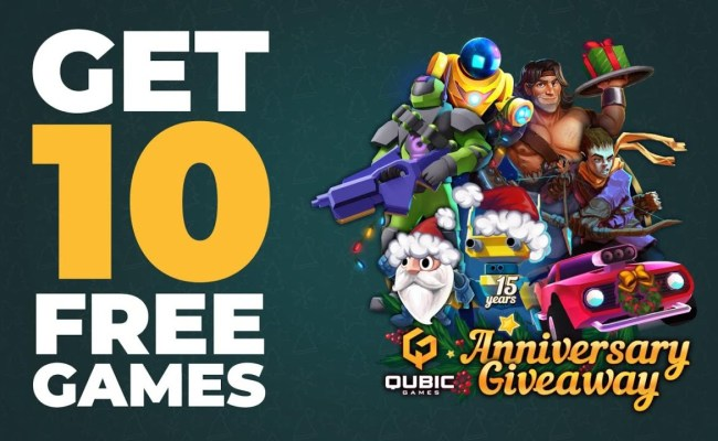 Qubicgames Giving Away 10 Free Nintendo Switch Games