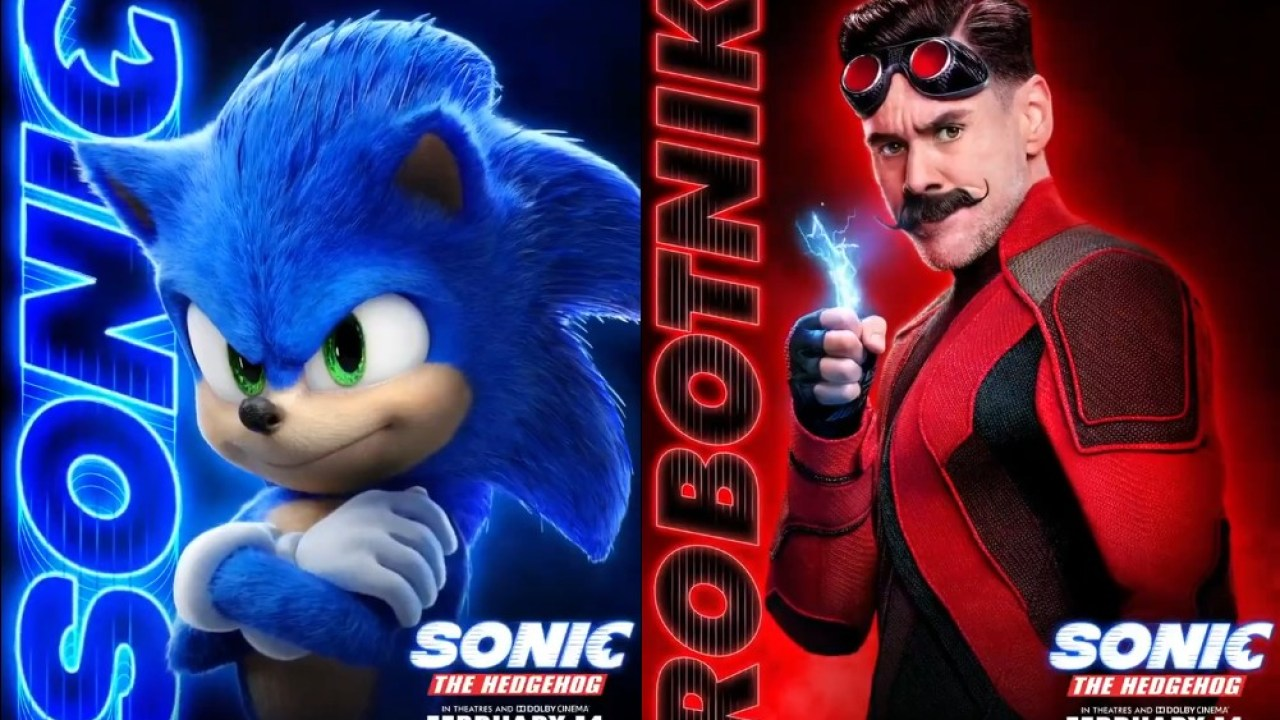 Sonic The Hedgehog Movie Receives Three Character Profile Posters Nintendosoup