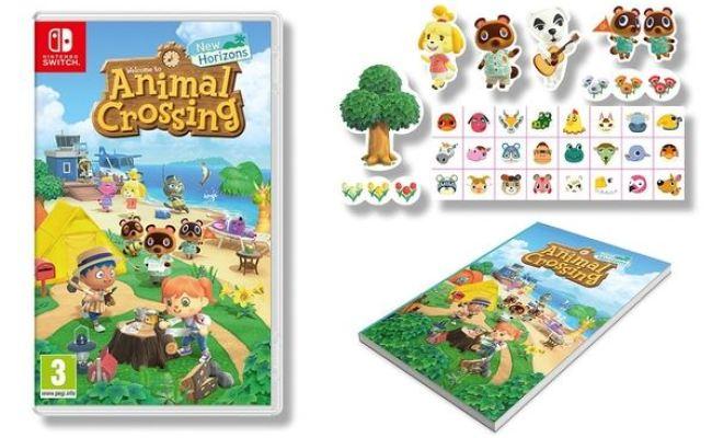 Numerous Pre Order Bonuses Revealed For Animal Crossing New Horizons Nintendosoup